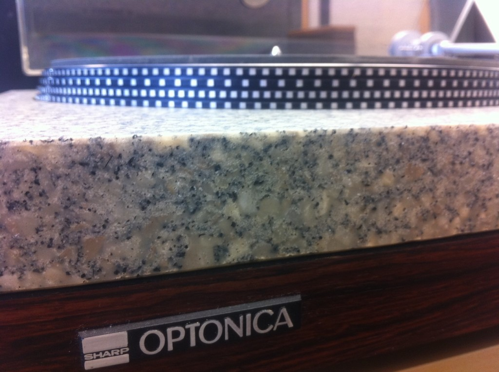 Optonica RP 3500 Turntable Granite