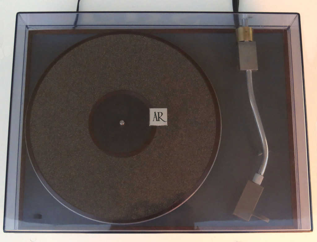 AR XA Turntable Dust Cover