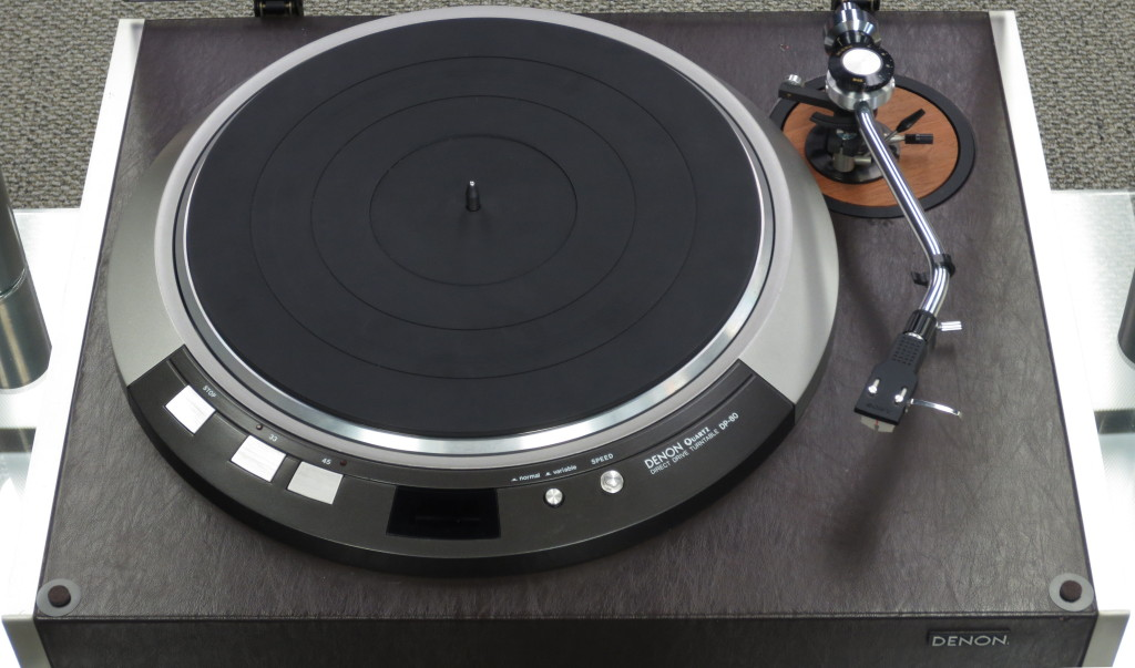 Denon DP 80 Turntable