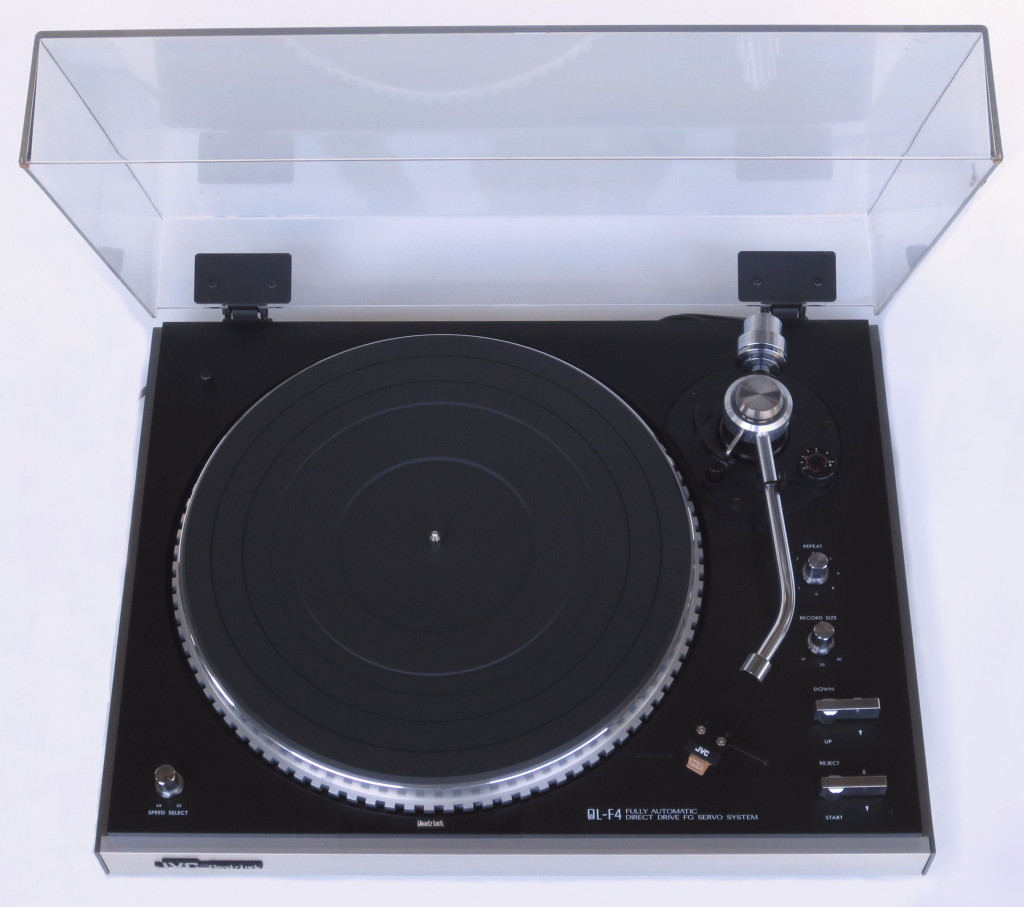JVC QL-4 Turntable with Grado MF 3 Cartridge