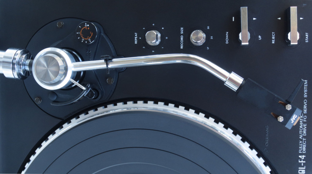 JVC QL-4 Turntable Tonearm Detail