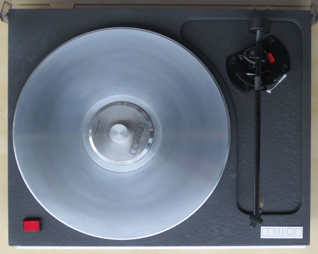 Mission 774 Turntable with Mission 774 tonearm and Supex 900 Super MC Cartridge