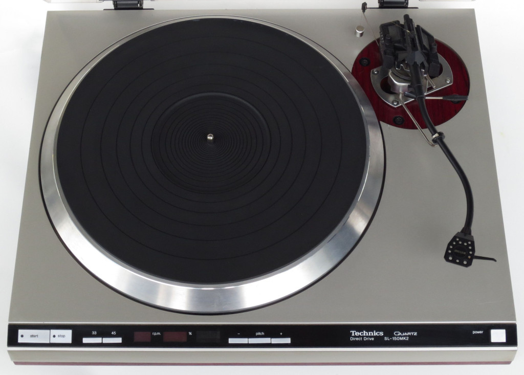 Technics SL-150MK2 Turntable SME Series 3 Titanium Tonearm