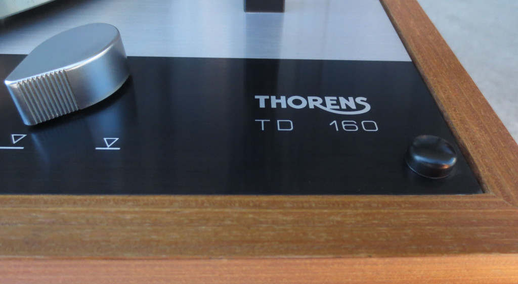 Thorens TD160 Turntable Detail