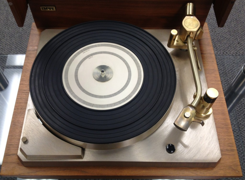 The Empire 598 Turntable