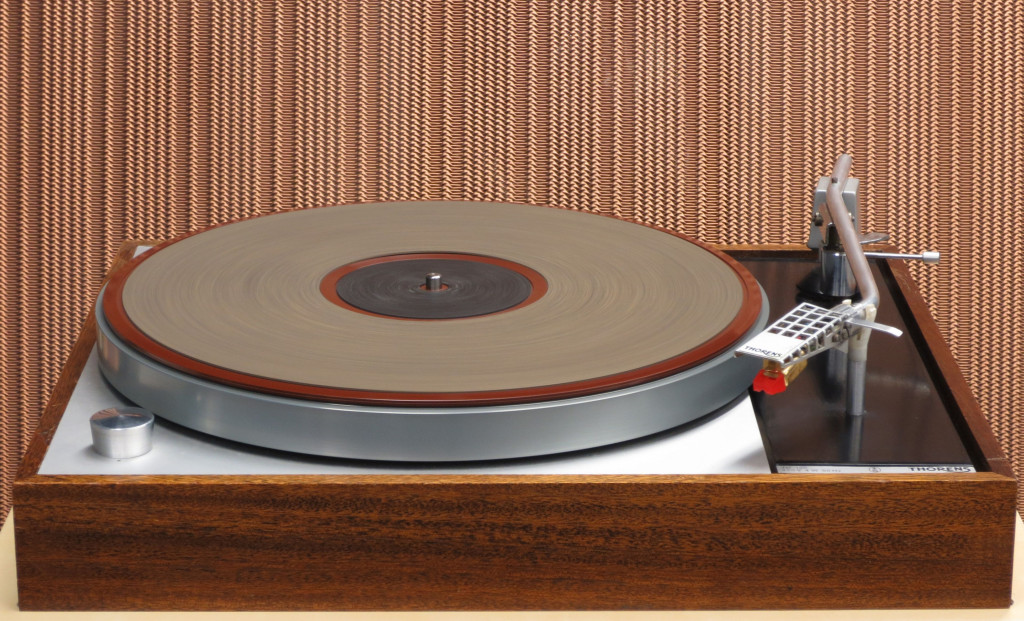 1965 Thorens TD150 Turntable with 1959 Quad ESL 57