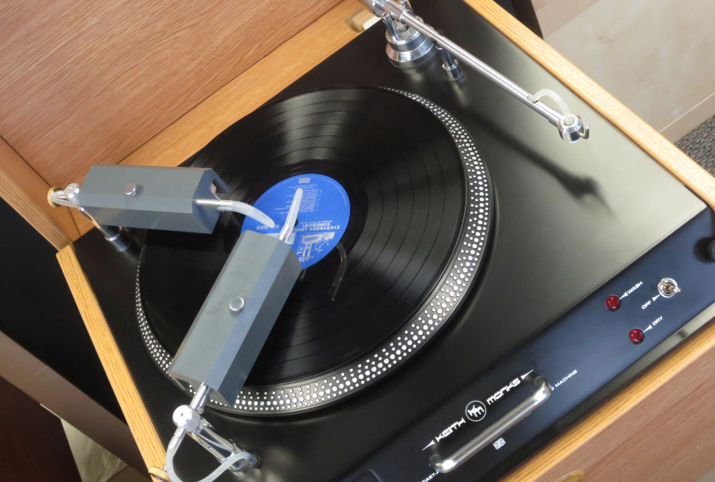 The Keith Monks 'Archivist Duo' Record Cleaner